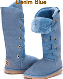 Dance Tall UggBoots UGG Boots -42cm Nomad Style Boot. 12 Colors to Choose 100% Aussie Sheepskin - HappyGreenStore