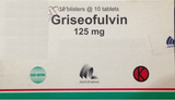 Griseofulvin Tablets Antifungal For Fungal infections of the skin/hair/nails - HappyGreenStore