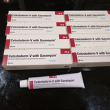 Celestoderm V Cream/Celestoderm V with Garamycin Cream/ Benoson N For Dermatosis/Psoriasis - HappyGreenStore