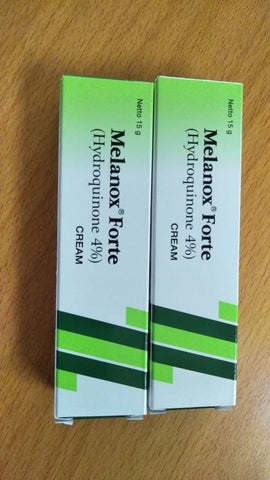 Melanox Forte 4% Hydroquinone Bleach FOR Hyperpigmentation/Dark Spot/Freckles - HappyGreenStore