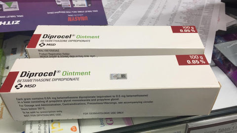 Diprocel Cream/Ointment FOR Corticosteroid responsive Dermatoses/Dermatosis/