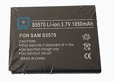 1 X Samsung Galaxy mini S5570 S5750 Battery +  1 Year Warranty OZTEL brand - HappyGreenStore