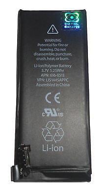 Apple iPhone 4 4G Premium replacement Battery +1 Yr Wty - HappyGreenStore