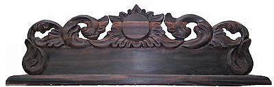 Varnished Sunflower Sculpture for Name & Position Board - Real Ebony Wood Bali - HappyGreenStore