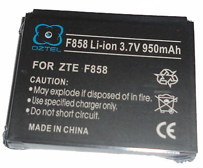 Telstra ZTE F858 858 F852 battery Next G +1 yrwarranty - HappyGreenStore