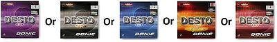 Donic Festo F1/Festo F1-HS/Festo F2/Festo F3/F3 Big Slam Rubber Table Tennis - HappyGreenStore