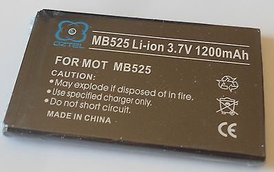 NEW Sealed Motorola MB525 DEFY MB520 BRAVO BF5X BF-5X ME525 battery + 1 yr Wty - HappyGreenStore