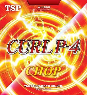 TSP Curl P-4 P4 CHOP Rubber Table Tennis Ping Pong Developed by Koji Matsushita - HappyGreenStore