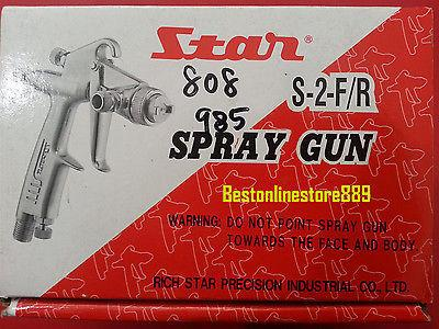 NEW Star S2 S-2 Spray Gun Mini series Gravity SprayGun S2R/S2F nozzle 0.5/0.8mm - HappyGreenStore