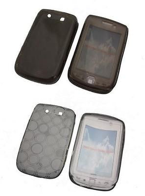 1 X Gel Skin Case TPU Cover BlackBerry 9700 Bold 9800 Torch 9520 Storm2 OZtel - HappyGreenStore