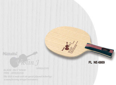 Nittaku Violin J Compact blade table tennis ping pong - HappyGreenStore