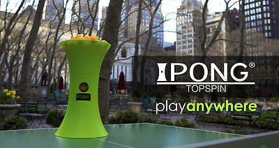 iPong Topspin uses AA battery robot training buddy table tennis +100trainingball - HappyGreenStore