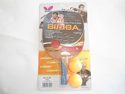 Butterfly Biriba 91 Japanese penhold Racket Racquet TOP Bat Table Tennis PRO - HappyGreenStore
