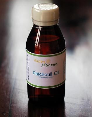 Happy Green 100% Pure Patchouli Essential oil for Massage, Diffuser, Candle/Soap - HappyGreenStore