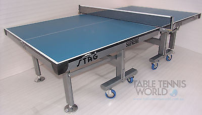 High Quality Stag SUPREME 30 30mm SOLID Top Table Tennis ITTF approved table - HappyGreenStore