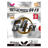 Butterfly Tenergy 64 FX 64-FX rubber Table tennis Ping Pong no blade racket - HappyGreenStore