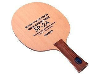 Darker 5P-2A 5 ply Kiso Hinoki blade (OFF) no Rubber Table Tennis Ping Pong - HappyGreenStore