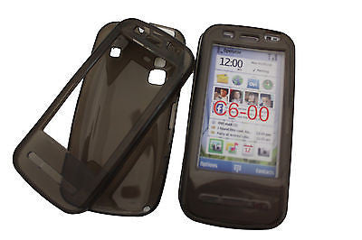 1 X Soft Gel Skin Case TPU Cover Nokia C3 C6 X2 X3-02 Touch and Type N97 OZtel - HappyGreenStore