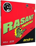 Andro RASANT or RASANT TURBO or RASANT PowerSponge Rubber - Table Tennis GOOD - HappyGreenStore