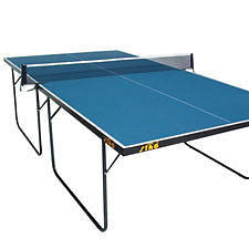 Stag Family Compact Outdoor 12mm Compreg Top Table Tennis Table + bats balls - HappyGreenStore