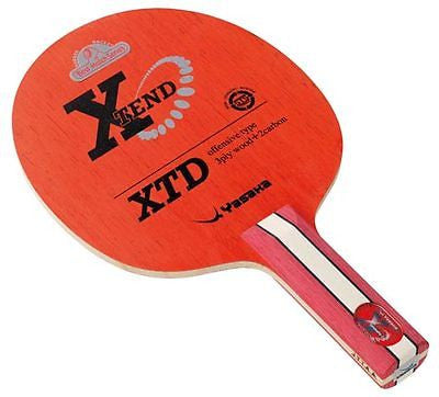 Yasaka XTend XTD Carbon blade FL/ST Shakehand or CP Penhold table tennis - HappyGreenStore