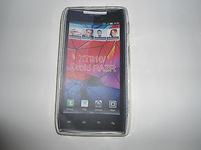 Soft Gel Skin Case TPU Cover Motorola RAZR DROID XT910 910 - Quality OZtel case - HappyGreenStore