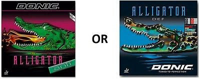 "Donic Alligator Anti ""Anti Spin""/ Alligator DEF ""long pips"" Rubber Table Tennis - HappyGreenStore"