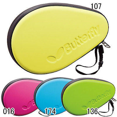 Butterfly Colorful hard full case Tough colourful case table tennis racket bat - HappyGreenStore