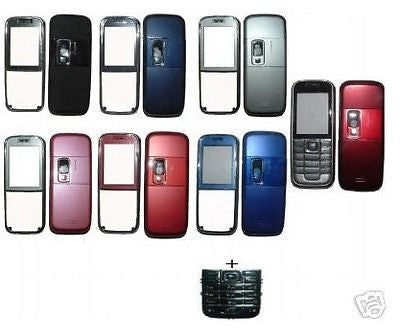 1 X COVER Faceplate for Nokia 6233 HOUSING + Keypad - HappyGreenStore