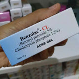 NEW Benzolac CL Benzoyl Peroxide + Clindamycin FOR Acne/Pimples/Acne Feldin Sulfur - HappyGreenStore