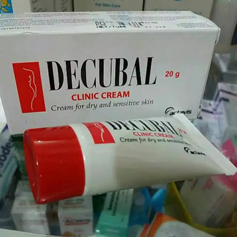 DECUBAL ACTAVIS for Dry/Sensitive Skin Psoriasis Eczema Dimeticone Woolfat GO!! - HappyGreenStore