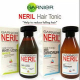 Garnier Neril Anti Dandruff Shampoo Shield or Anti Dandruff Hair Tonic Treatment