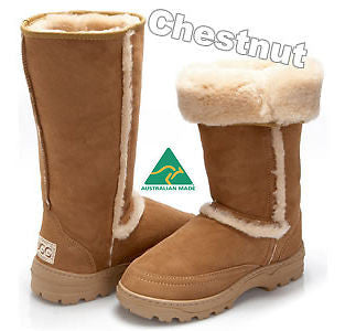 Moonlight Hiking UggBoots UGG Boots 35 cm boot 100% luxurious Aussie Sheepskin - HappyGreenStore