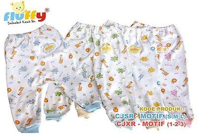 Fluffy Cute Baby Sleeping pants for Kids Unisex Boys Girls animal print Size 3 - HappyGreenStore