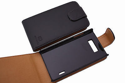 1 X Premium High Quality Flip case for LG Optimus L7 P700 P705 Cover OZtel Brand - HappyGreenStore