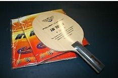 The Carbon King Dawei VTS 3.0 Carbon Blade + Inspirit Rubbers Table Tennis FAST - HappyGreenStore