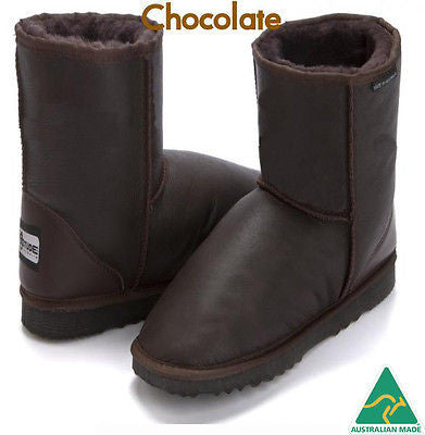 Kids Stealth UggBoots Ugg Boots -18-20cm water resistant boot -Made in Australia - HappyGreenStore