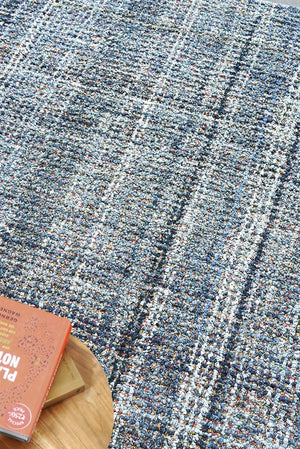 barnwell denim rug in blue and multi color