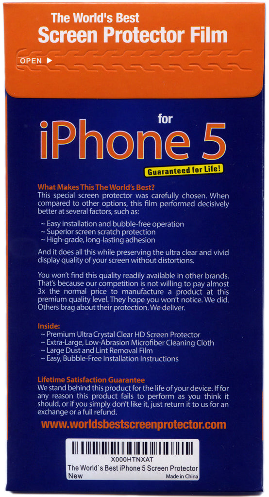 iPhone 5 Screen Protector – The World's Best Screen Protectors