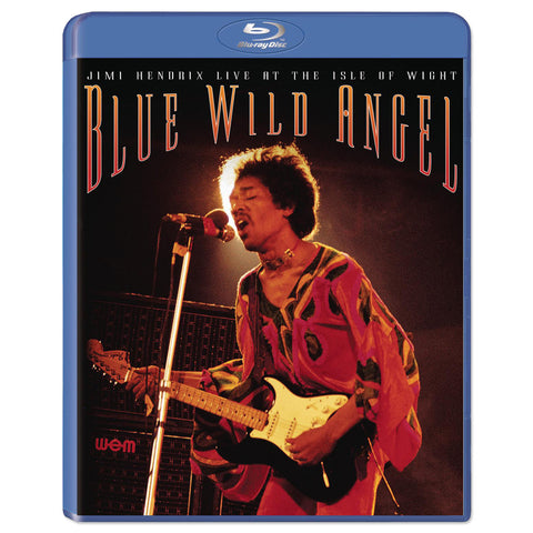 Jimi Hendrix: <br>Blue Wild Angel