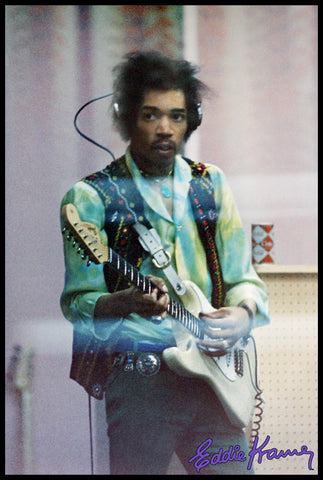 JIMI HENDRIX: <br>FROM THE OTHER SIDE OF THE GLASS