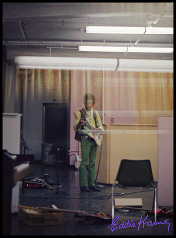 JIMI HENDRIX: <br>JIMI OVERDUBBING DURING THE ELECTRIC LADY LAND SESSIONS