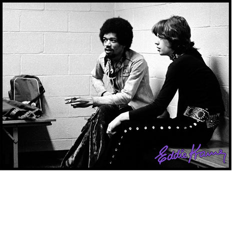 JIMI HENDRIX & <br>MICK JAGGER: <br>JIMI AND MICK