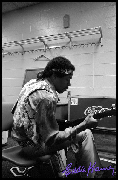 JIMI HENDRIX: <br>BACKSTAGE AT MADISON SQUARE GARDEN