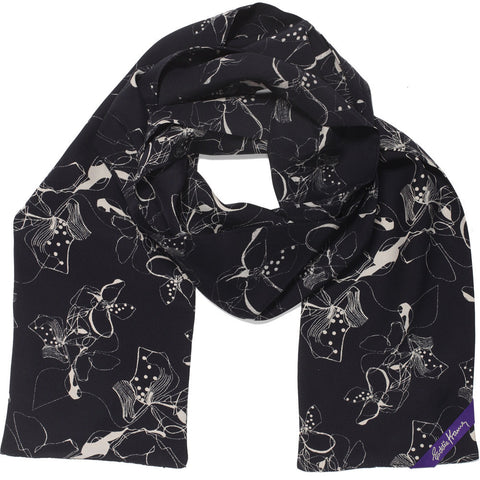 Eddie Kramer Signature Collection ~  Wings Slim Scarf