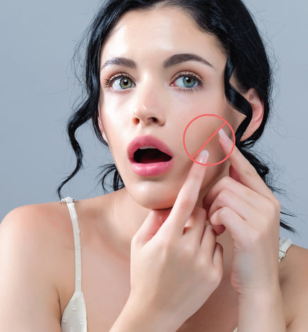 Blog Feed Article Feature Image Carousel: 8 Things to NEVER Do to a Pimple