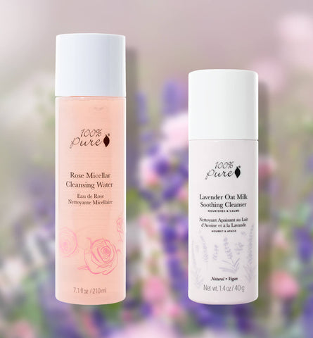 Blog Feed Article Feature Image Carousel: Gentle Natural Cleansers Made with Flowers