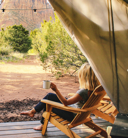 Blog Feed Article Feature Image Carousel: The Glamping Skin Care Survival Guide