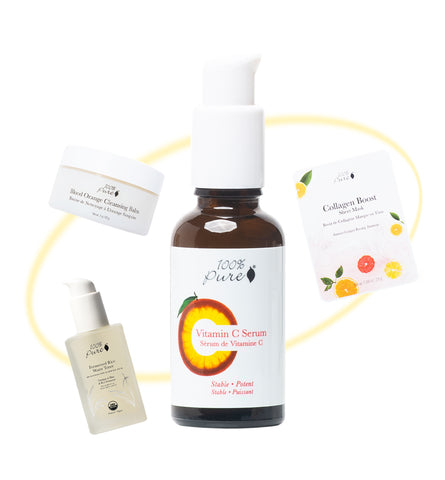 Blog Feed Article Feature Image Carousel: Build a Routine Around Your Vitamin C Serum