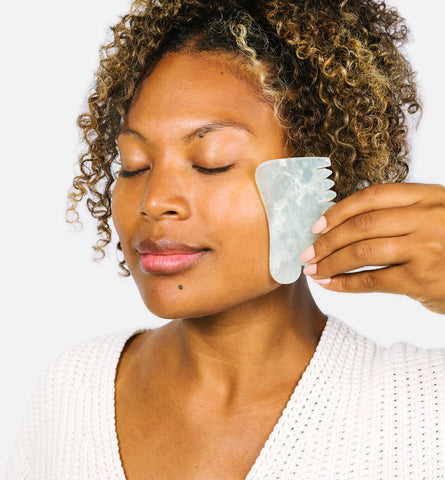 Blog Feed Article Feature Image Carousel: How to Give Yourself a Gua Sha Facial